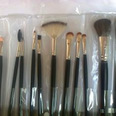 Set 12 Pensule Profesionale Machiaj make-up - Pensula make-up