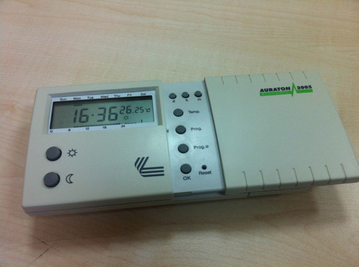 Termostat programabil Auraton 2005 - termostat centrala termica foto mare