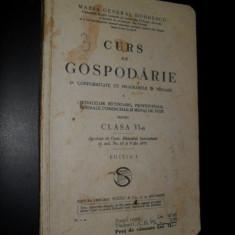 Maria General Dobrescu-Curs de Gospodarie, 1935