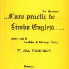 Manolescu, D. - ... CURS PRACTIC DE LIMBA ENGLEZA .... PENTRU ANUL II Altele