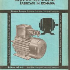 (C1689) MASINI ELECTRICE ROTATIVE FABRICATE IN ROMANIA DE C. RADUTI SI E. NICOLESCU, EDITURA TEHNICA, BUCURESTI, 1981 - Carti Electrotehnica