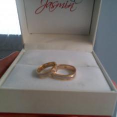Verighete Jasmin Aur alb combinat cu aur galben 14k (JSM6806) - Verigheta