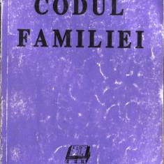 CODUL FAMILIEI - Carte Dreptul familiei