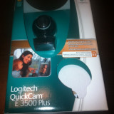 Webcam Logitech E 3500 Plus, Pana in 1.3 Mpx