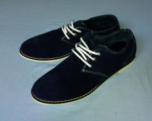 Pantofi barbatesti piele intoarsa foto