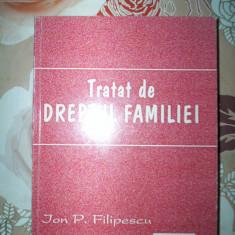 Tratat de dreptul familiei-ION FILIPESCU - Carte Dreptul familiei