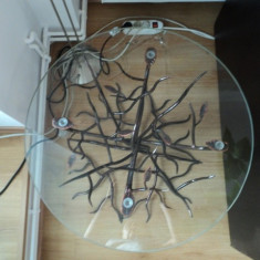 Oglinda si masuta fier forjat model copac
