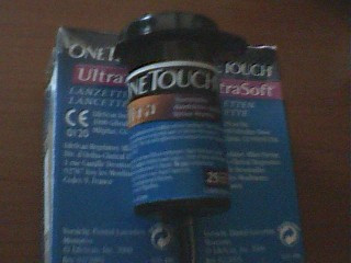 Vand Lamele  testere ptr glucometru One Touch ULTRA Soft foto mare