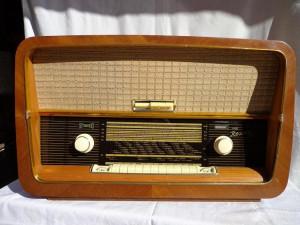 Radio cu lampi stereo ROSSINI foto