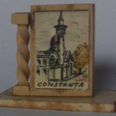 Microvedere-bibelou, Constanta, R. P. R., circa 1960, format 19 x 32, 5 x 41 mm