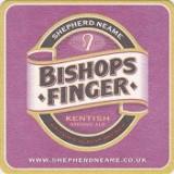 Cartonas de colectie - Suport de pahar / Biscuite BISHOPS FINGER