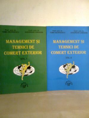 Management... comert exterior (2 Vol.) - Prof. T. GEORGESCU -GH. CARAIANI (2000) foto