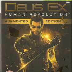 Jocuri Xbox Electronic Arts, Actiune, 16+, Single player - JOC XBOX 360 DEUS EX AUGMENTED EDITION ORIGINAL PAL / STOC REAL / by DARK WADDER
