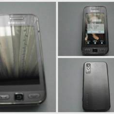 SAMSUNG GT-5230- ACCESORII ORIGINALE - Telefon mobil Samsung Star S5230, Argintiu, Neblocat