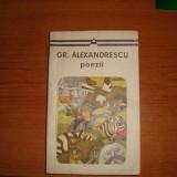 Gr. Alexandrescu poiezii
