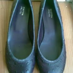 Pantofi balerini din piele firma BENETTON marimea 36! Arata impecabil! - Balerini dama Benetton, Culoare: Mov, Mov