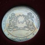 Medalii Romania - Medalie 100 de ani de la fondarea Institutiei Patronale din Romania 1903-2003 + cutia de prezentare