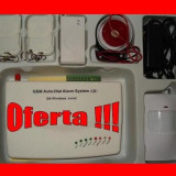 Sisteme de alarma - SISTEM DE ALARMA PENTRU CASA GSM 07 - oferta limitata - Senzor shock GRATUIT cadou !!!