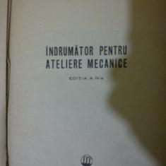 Indrumator pentru ateliere mecanice George Georgescu
