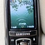Telefon Samsung, Negru, Nu se aplica, Neblocat, Single SIM, Fara procesor - SAMSUNG S400 - telefon slide mp3 camera foto - decodat, cu incarcator original