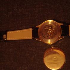 Ceas mecanic de aur 14k Scaffhausen
