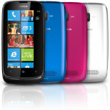 Nokia lumia 610 nou - Telefon mobil Nokia Lumia 610, Negru, Neblocat