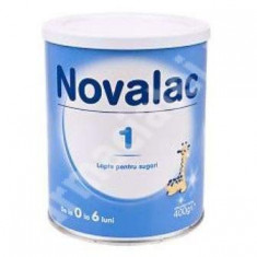 Vesela bebelusi - Lapte praf NOVALACT 1 400g