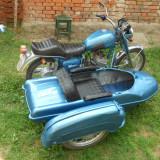 Motocicleta ij cu atas 350 cm 2 cilindri