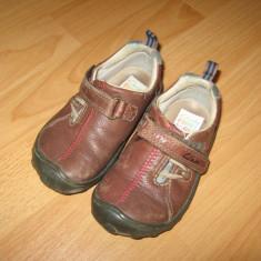 Pantofi copii Clarks, Baieti, Marime: 24.5, Maro - Pantofi CLARKS