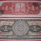 Bancnota Straine - MEXIC 1969 - 1 PESO - UNC