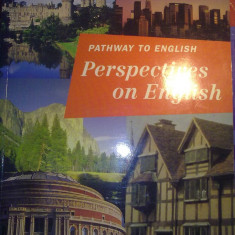 Manual scolar, Limbi straine - Rada Balan - Pathway to English Perspectives on English Student's book 10