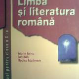 Marin Iancu - Limba si literatura romana manual pentru clasa a X a - Manual scolar, Clasa 10, Alte materii