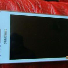 Samsung Galaxy S Advance, NOU, are folie de protectie - Telefon mobil Samsung Galaxy S Advance, Alb, Neblocat