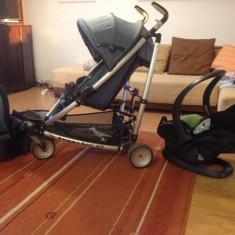 Carucior sport copii + landou + scaun masina marca BeSafe