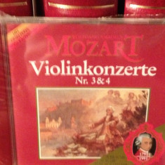 MOZART - VIOLINKONZERTE 3 & 4 -EUGEN SCHAEFFER (1988/PHILIPS REC)-cd nou/sigilat - Muzica Clasica universal records