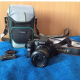Vand aparat foto DSLR Sony Alpha 200, Kit (cu obiectiv), 10 Mpx