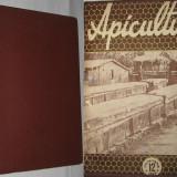 Revista APICULTURA, 9 numere pe anul 1958 (lipsesc nr.2, 3, 10) (stuparit, albinelor, stuparului, albinarit) 12 lei/revista