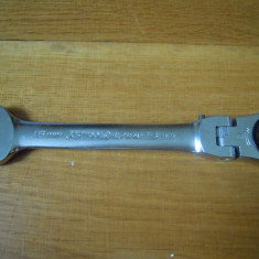 KS TOOLS / KSTOOLS cheie combinata 15 mm cu cliket si brat articulat - Cheie mecanica