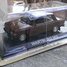Macheta auto, 1:43 - Macheta metal DeAgostini Wartburg 353 SIGILATA+revista Masini de Legenda nr.12