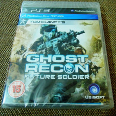 Joc Tom Clancy's Ghost Recon Future Soldier, PS3, original si sigilat! - Jocuri PS3 Ubisoft, Shooting, 16+, Single player