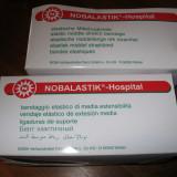 Pansament elastic -cutie cu 10 role a cate 5 m lungime fiecare - NOBALASTIK / bandaj