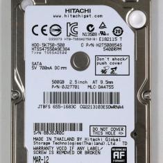 HDD Hitachi 750Gb Laptop 2, 5 sata 3 compatibil sata2 resigilate Hitachi Travelstar - HDD laptop Hitachi, 500-999 GB, Rotatii: 5400, 8 MB