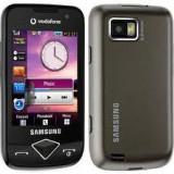 Telefon Samsung, Negru, <1GB, Neblocat, Single SIM, Fara procesor - Samsung S5600v