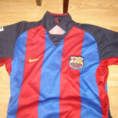 Tricou echipa fotbal, XL, Albastru, De club, Barcelona, Maneca scurta - Tricou Fotbal Nike maneca scurta XL, F.C.Barcelona (original)