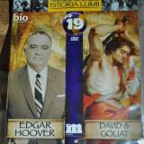 EDGAR HOOVER/DAVID &GOLIAT DVD 89 minute