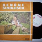 Disc vinil ( vinyl, pick-up ) BENONE SINULESCU - Muzica Populara electrecord