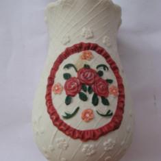 Vaza Flori Ceramica Mica Colorata Viu Motive - Florale- - Suport flori