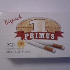 Foite tigari - Predare personala in Bucuresti !Tuburi tigari Primus Bigpack 5 x 275 buc.
