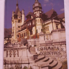 ROMANIANA S COUNTIES- ALBUM ROMANIA (JUDETELE ROMANIEI) - Carte Fotografie Altele
