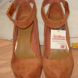 Pantofi dama, Marime: 38 - Platforme Bershka NOI marime 38